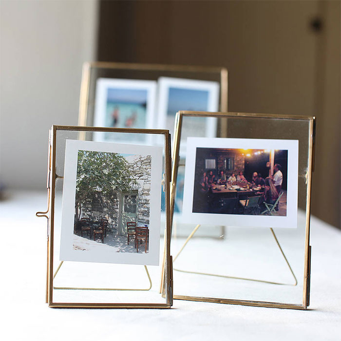Amazoncom 4 Frame Photo Glass Coaster Set of 4 Item